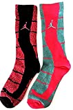 Jordan Retro Elephant Print 2-Pack Socks Youth Girl's