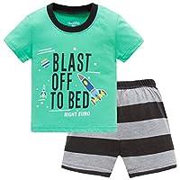 Hugbug Boys Rocket Pajamas Set 2-7T