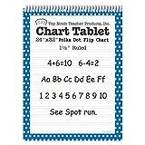 Top Notch Teacher Products Chart Tablet Polka Dot