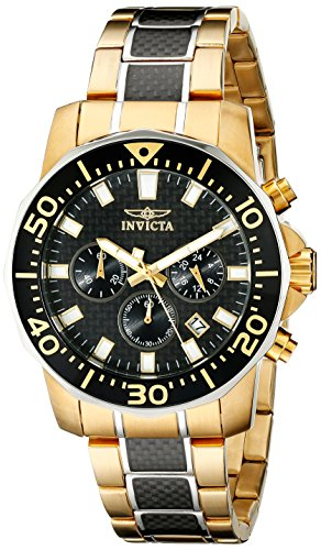 Invicta Men's 17254 Pro Diver Analog Display Japanese Quartz Multi-Color Watch