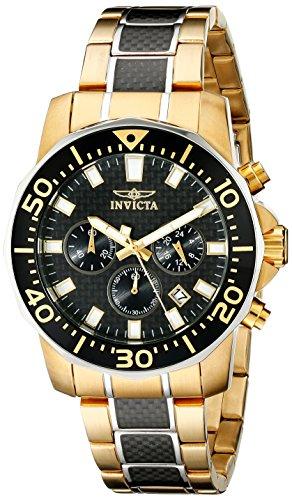 Invicta Men's 17254 Pro Diver Analog Display Japanese Quartz Multi-Color Watch
