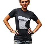 """The Home T """"As Seen on Shark Tank"""" Unisex Minnesota Home T-Shirt Medium Grey offers"""