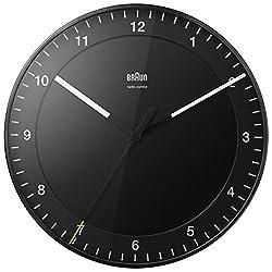 Braun BNC017 Wall Clock Black 30cm
