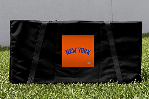 Victory Tailgate New York Knicks NBA Hardwood Classic Cornhole Carrying Case by Victory Tailgate