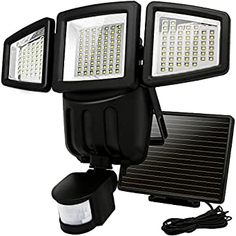 Solar Lights Motion Sensor Costech 182 Led 1000 Lumens