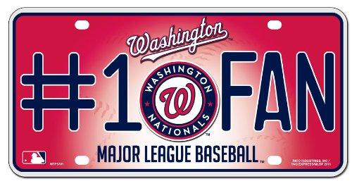MLB Washington Nationals #1 Fan Metal Tag