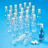 S&S Worldwide Plastic Sand Art Bottles with Cork (Pack of 24)