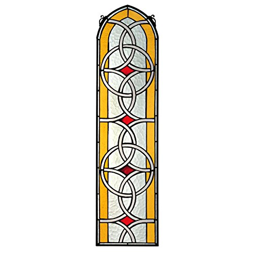 Stained Glass Panel  Celtic Knotwork Stained Glass Window Hangings  Window Treatments