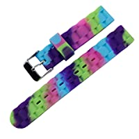 Girl Fashion Soft Silicone Watch Strap Waterproof Sports Color Watch Band 16mm
