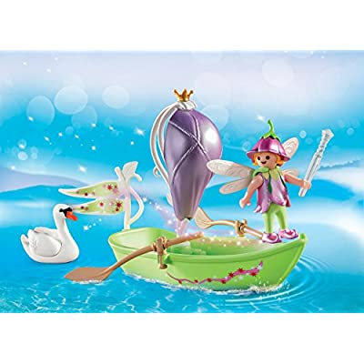 PLAYMOBIL Fairy Boat Carry Case: Toys & Games