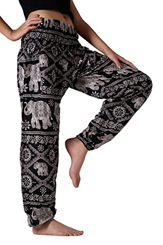 Bangkokpants Women's Yoga Clothing Elephant Pants
