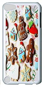 Apple iPod 5 Case,Sweet Ornaments Polycarbonate Hard Case Back Cover for Apple iPod 5/iPod Touch 5 White