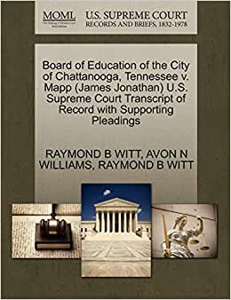 Board of Education of the City of Chattanooga, Tennessee v