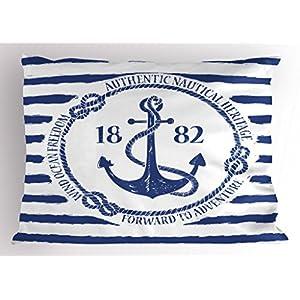 51EHbfSVUIL._SS300_ 100+ Nautical Pillows & Nautical Pillow Covers