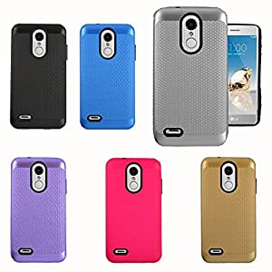 WHOLESALE- LG Aristo 2 Ultra Metallic Hybrid Case (12 Pc Lot)