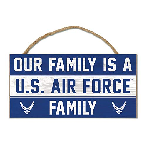 WinCraft Air Force Official MILLITARY 5 inch x 10 inch Sign by - Air Force Sign