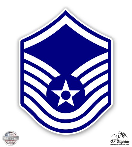US Air Force E7a Master Sergeant Rank - 3