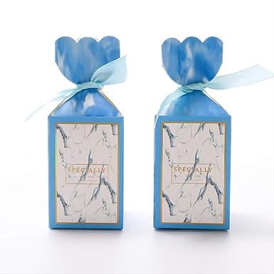 Caja de regalo de caramelo Nudo Boda Bolsa de papel pequeña ...