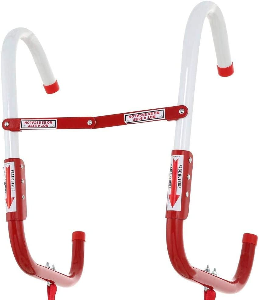 468193 KL-2S Two-Story Fire Escape Ladder with Anti-Slip Rungs 13-Foot Pack of 2