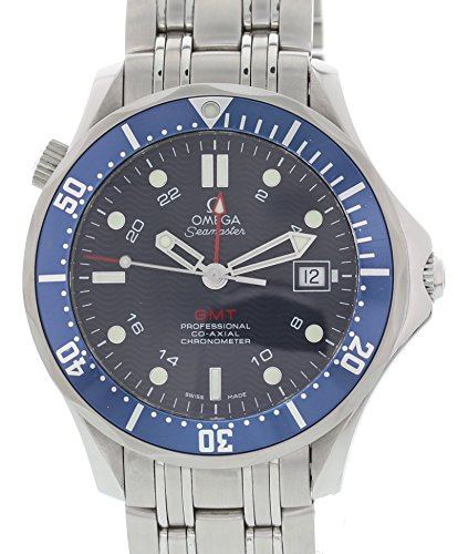 Omega Seamaster GMT automatic-self-wind mens Watch 2535.80 (Certified Pre-owned)