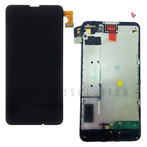 ePartSolution-OEM Nokia Lumia 635 / 630 LCD Display Touch Digitizer Screen + Frame Assembly Black Replacement Part USA Seller
