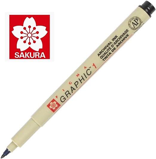 SAKURA Grafikstift PIGMA GRAPHIC 3 schwarz