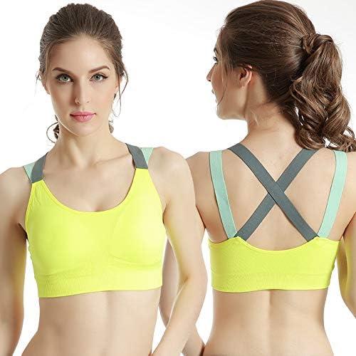 Professional Running Fitness Sport Bra Female Beauty Back Vest No Steel Ring Bra