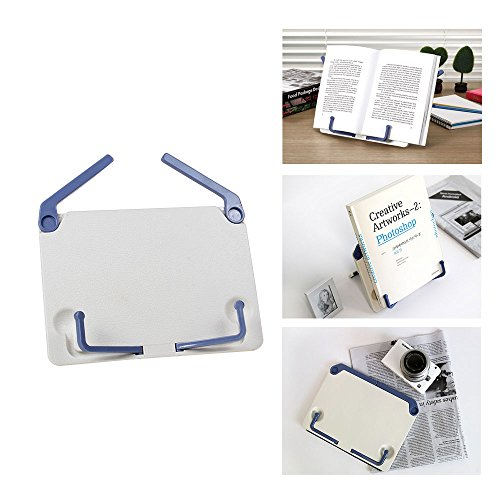 HENGSHENG New Mini Portable Book Reading Stand Bookstand Text Book Document Display Holder