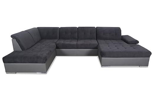Sofa Couch Gortex Wohnlandschaft Prado Mit Schlaffunktion