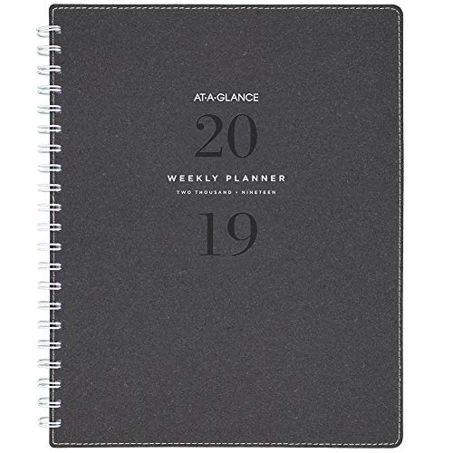 - AT-A-GLANCE 2019 Weekly & Monthly Planner, 8-1/2