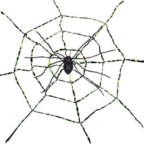 Morris Costumes - Spiderweb With Spider - Spiderweb