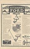1918 Ford Model T KBC Carburetor Galion Vaporizer Roll Rite Bearing Ad