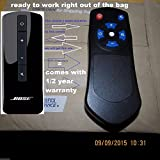 NEW Replacement Remote control for Bose Cinemate Series II, IIGS & 1SR 4 FUNCTION Can run the Solo , Solo 10 & solo 15 also.