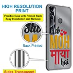 Fashionury Back Cover for Tecno Spark 7 Pro Designer | Printed|Transparent |Flexible| Silicon -V021