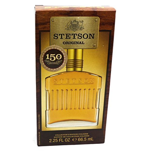 Stetson Original Decanter Gift Set (2.25 Ounce Cologne Pour/150th Anniversary Design) (Set Stetson Gift)