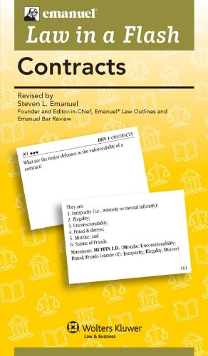Law in a Flash: Contracts by Brand: Aspen Publishers