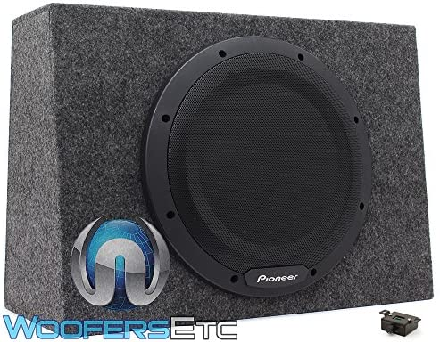 Pioneer TS WX1210A enclosure subwoofer amplifier product image