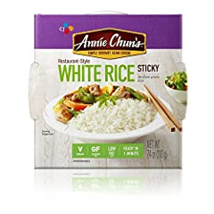 There's nothing like enjoying your favorite Asian side dish with perfectly steamed sticky rice bowl from your favorite Asian restaurant. Now you can enjoy that same delicious taste in just under two minutes from the comfort of your own home. ...