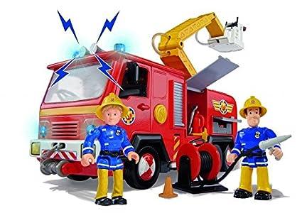 Amazon.com: speelgoed Speel – goed 79403 brandweerman Sam ...