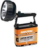 RAYOVAC Industrial Grade 75 Lumen 6-Volt Krypton Beam Lantern with Battery, 301K-A