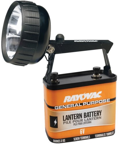 Rayovac Industrial Grade 75 Lumen 6-Volt Krypton Beam Lantern with Battery (301KA)