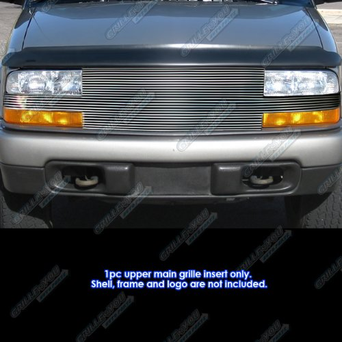 Blazer S10 Door Chevrolet Shell (APS C86813A Polished Grille Replacement for select Chevrolet S10 and other Models)