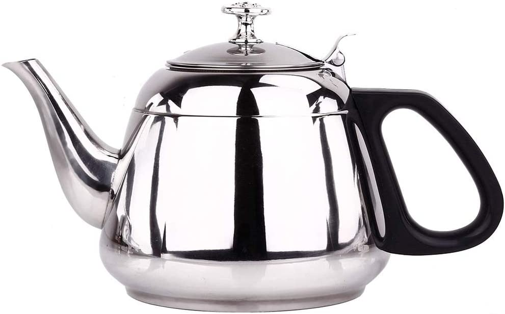 Tea Kettle Stovetop Whistling Teakettle Teapot, Suitable for Induction Cooker, Insulated Handle, Stainless Steel Teapot for Household and Garden
