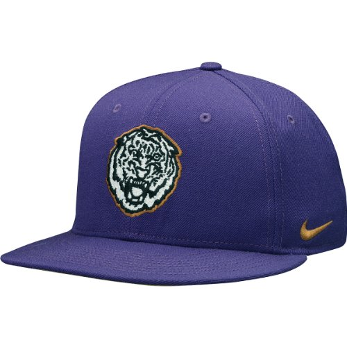 NIKE LSU Tigers Rivalry True Snapback Hat One Size Fits All (Lsu Nike Shoes)