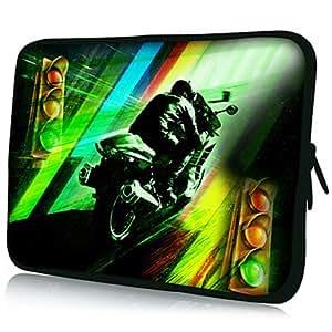 """conseguir Motorcycle Racer Patrón 7 """"/ 10"""" / 13 """"Laptop Sleeve Case para el MacBook Air Pro / Mini Ipad / Galaxy Nexus Tab2/Sony/Google 18128 , 7 inch"""