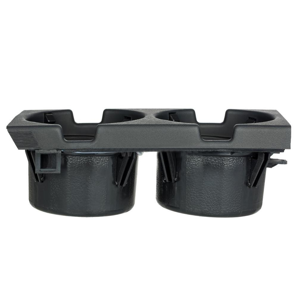 beiguoxia Car Front Center Console Drink Cup Holder Change Coin Storage for BMW 3 Series E46