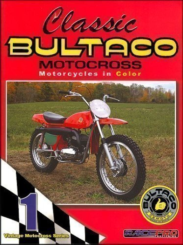 Classic Bultaco Motocross Motorcycles in Color
