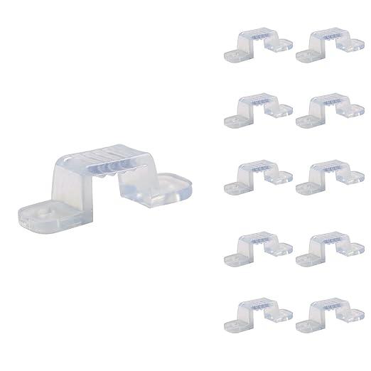 LE Grapa de fijación para tiras LED 100-240V, pack de 10 piezas,