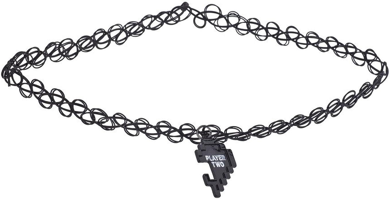 Lux Accessories - Juego de gargantillas de corazón Roto para 1 ...