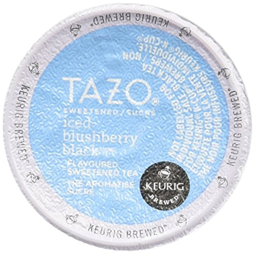 Tazo Sweetened Iced Blushberry Black (64 Pack)